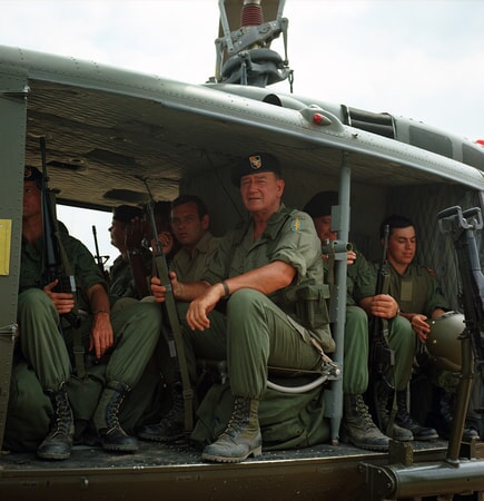 john wayne in the green berets on bluray, dvd and digital