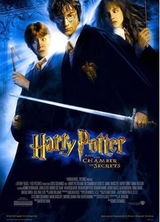 Harry Potter and the Chamber of Secrets - Poster 1