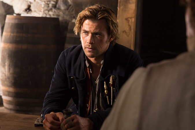 "CHRIS HEMSWORTH as Owen Chase in Warner Bros. Pictures' and Village Roadshow Pictures' action adventure ""IN THE HEART OF THE SEA,"" distributed worldwide by Warner Bros. Pictures and in select territories by Village Roadshow Pictures."