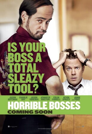 Horrible Bosses - Poster 1