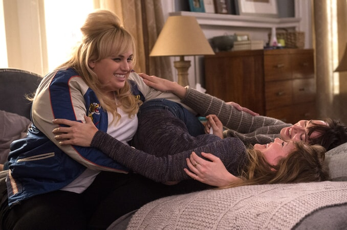 "DAKOTA JOHNSON as Alice and REBEL WILSON as Robin in New Line Cinema's, Metro-Goldwyn-Mayer Pictures' and Flower Films' comedy ""HOW TO BE SINGLE,"" a Warner Bros. Pictures release."