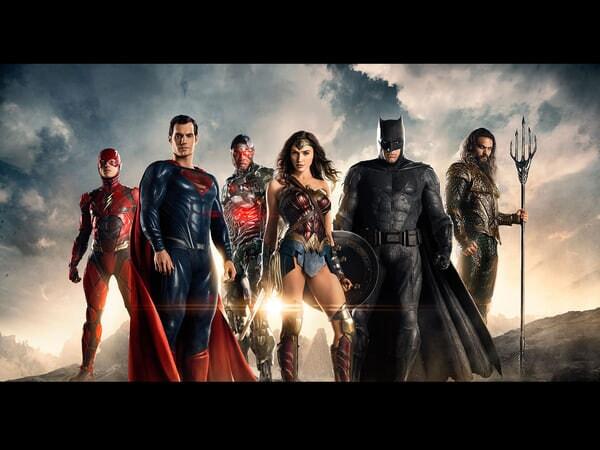 Justice League cast
