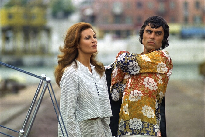 raquel welch and ian mcshane in the last of sheila