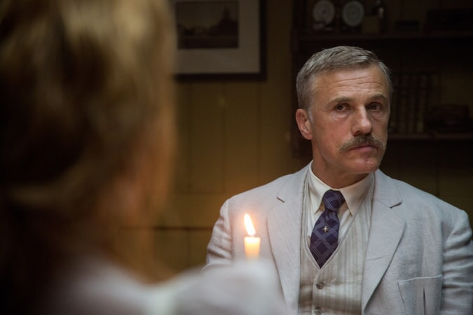 CHRISTOPH WALTZ as Leon Rom