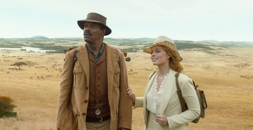 SAMUEL L. JACKSON as George Washington Williams and MARGOT ROBBIE as Jane