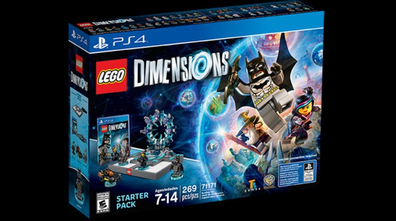 Lego Dimensions packaging