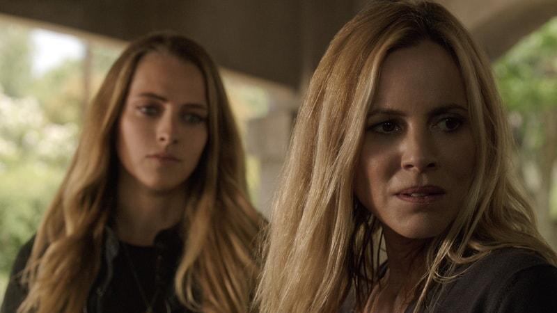 TERESA PALMER as Rebecca and MARIA BELLO as Sophie