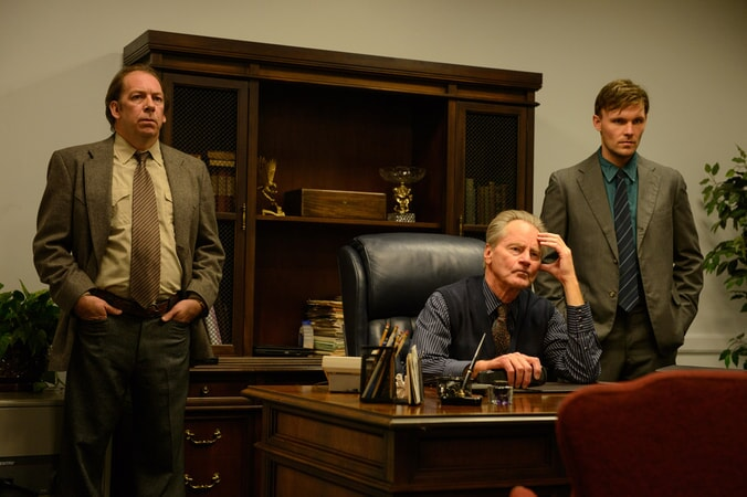 "BILL CAMP as Doak, SAM SHEPARD as Calvin Meyer and SCOTT HAZE as Levi in director Jeff Nichols' sci-fi thriller ""MIDNIGHT SPECIAL,"""
