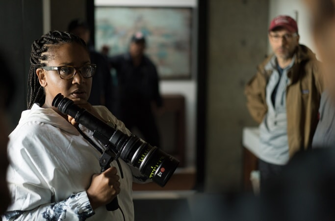 "Director STELLA MEGHIE on the set of the Warner Bros. Pictures and Metro-Goldwyn-Mayer Pictures romantic drama ""EVERYTHING, EVERYTHING,"" a Warner Bros. Pictures release."
