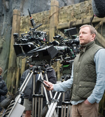 "Director/screenwriter/producer GUY RITCHIE on the set of Warner Bros. Pictures' and Village Roadshow Pictures' fantasy action adventure ""KING ARTHUR: LEGEND OF THE SWORD,"" distributed worldwide by Warner Bros. Pictures and in select territories by Village Roadshow Pictures."