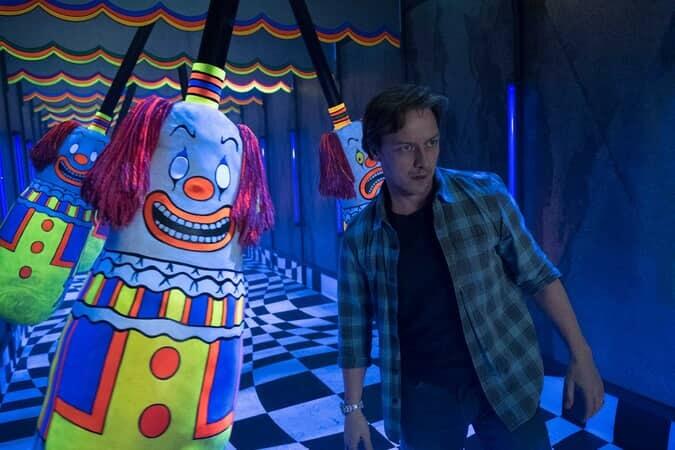 JAMES McAVOY as Bill Denbrough