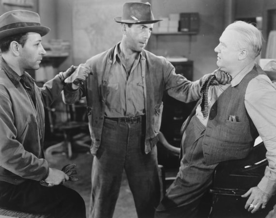 george raft and humphrey bogart in they drive by night