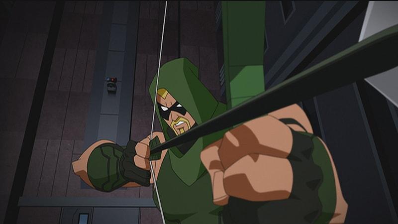 arrow in batman unlimted: mechs vs mutants