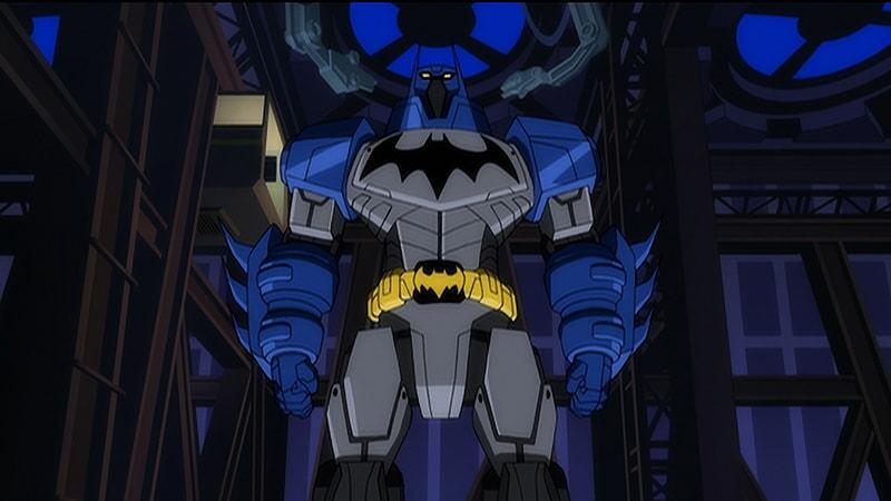 batman in batman unlimted: mechs vs mutants