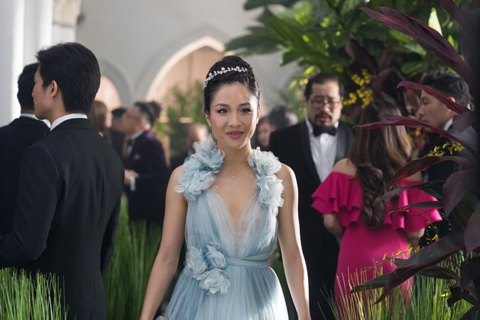 "CONSTANCE WU as Rachel in Warner Bros. Pictures' and SK Global Entertainment's contemporary romantic comedy ""CRAZY RICH ASIANS,"" a Warner Bros. Pictures release. Photo Credit: Sanja Bucko"