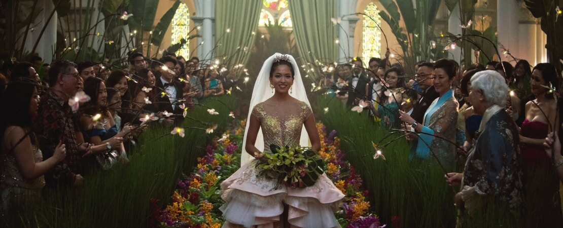 "A scene from Warner Bros. Pictures' and SK Global Entertainment's contemporary romantic comedy ""CRAZY RICH ASIANS,"" a Warner Bros. Pictures release. Photo Credit: Courtesy of Warner Bros. Pictures"