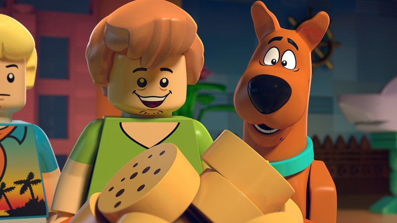 fred, shaggy, scooby pictured in LEGO Scooby-Doo: Blowout Beach Bash
