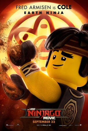 Cole character art from LEGO Ninjago