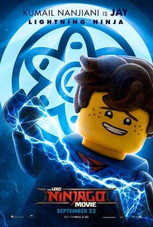 Jay character art from LEGO Ninjago