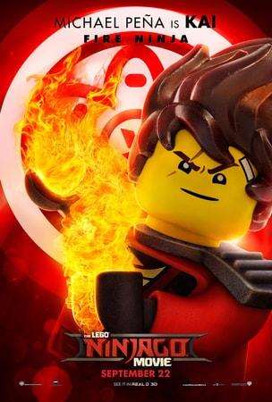 Kai character art from LEGO Ninjago