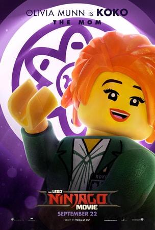 KoKo character art from LEGO Ninjago