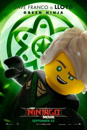 Lloyd character art from LEGO Ninjago