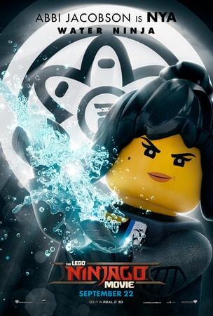 Nya character art from LEGO Ninjago