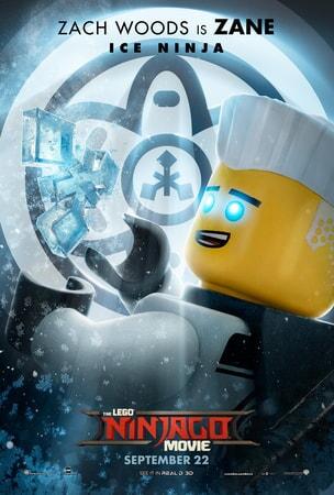 Zane character art from LEGO Ninjago
