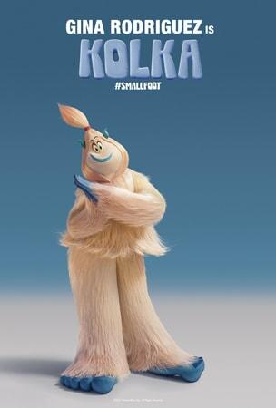 Kolka character art poster