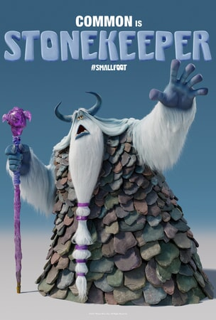 Stonekeeper character art poster
