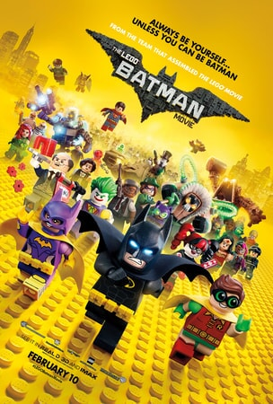 The LEGO Batman Movie: Featuring the full cast of LEGO characters