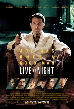 Live By Night: Ben Affleck as Joe Coughlin