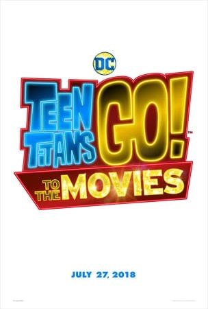 Teen Titans GO! To the Movies logo on white background
