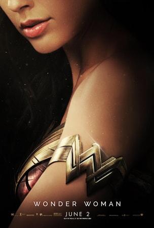 Wonder Woman's arm band