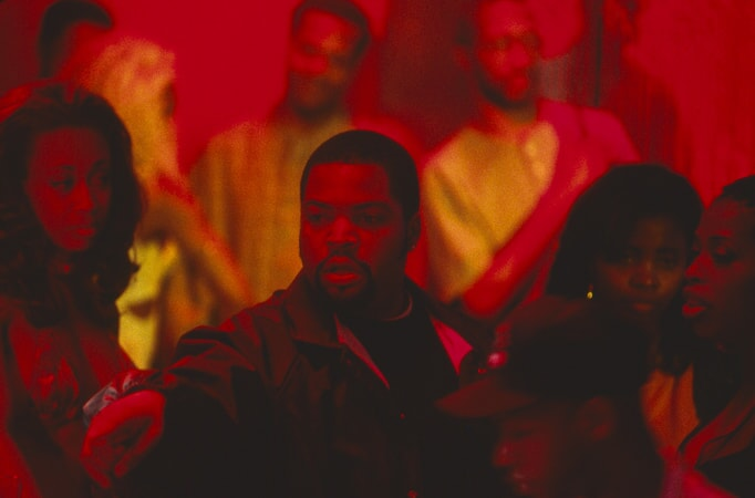 ice cube in scene from the players club