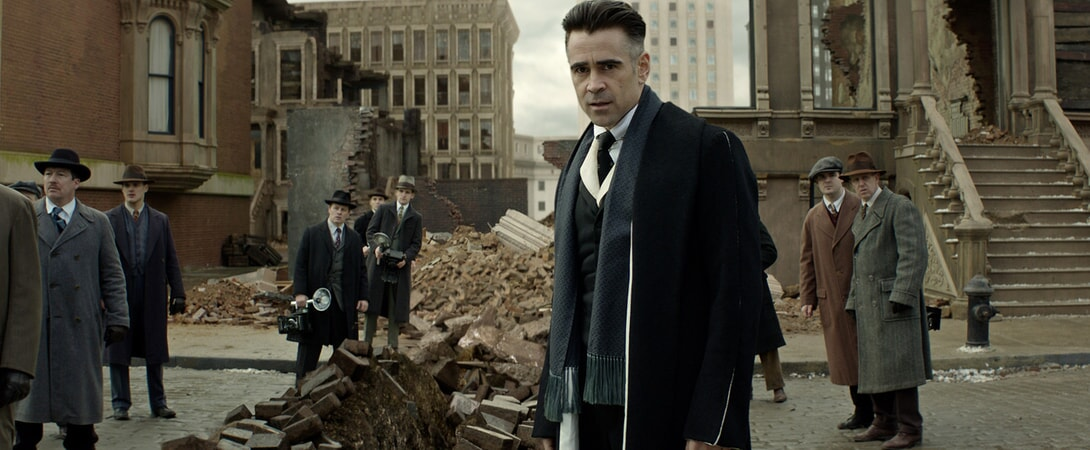 "COLIN FARRELL as Graves in Warner Bros. Pictures' fantasy adventure ""FANTASTIC BEASTS AND WHERE TO FIND THEM,"" a Warner Bros. Pictures release."