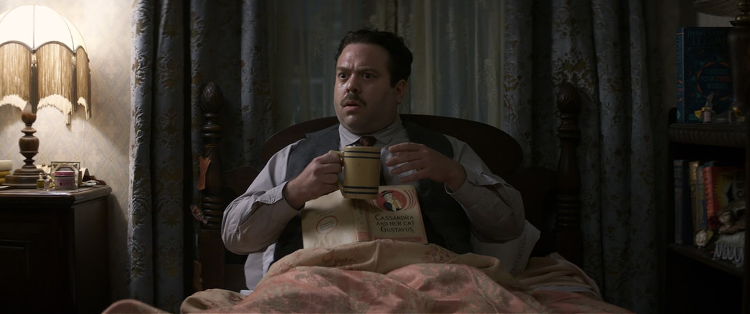 "DAN FOGLER as Jacob in Warner Bros. Pictures' fantasy adventure ""FANTASTIC BEASTS AND WHERE TO FIND THEM,"" a Warner Bros. Pictures release."