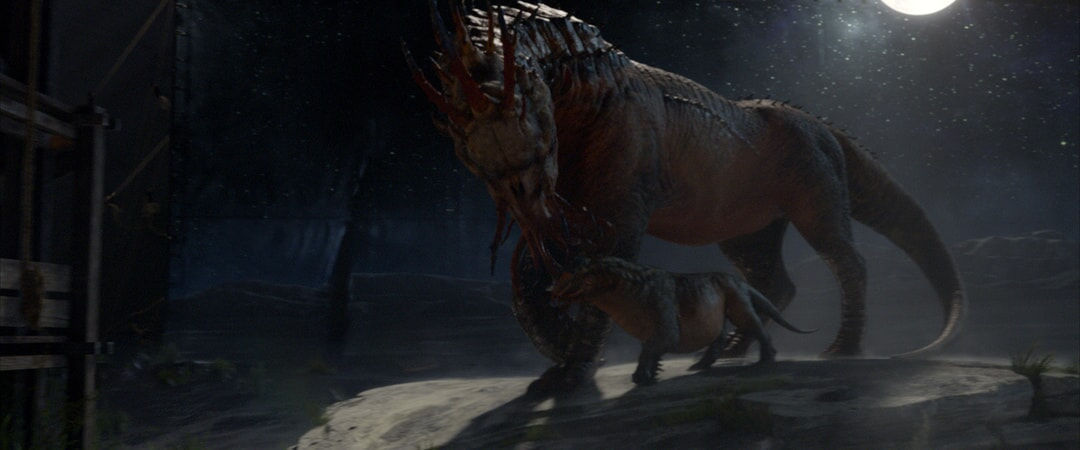 "beast called a Graphorn in a scene from Warner Bros. Pictures' fantasy adventure ""FANTASTIC BEASTS AND WHERE TO FIND THEM,"" a Warner Bros. Pictures release."