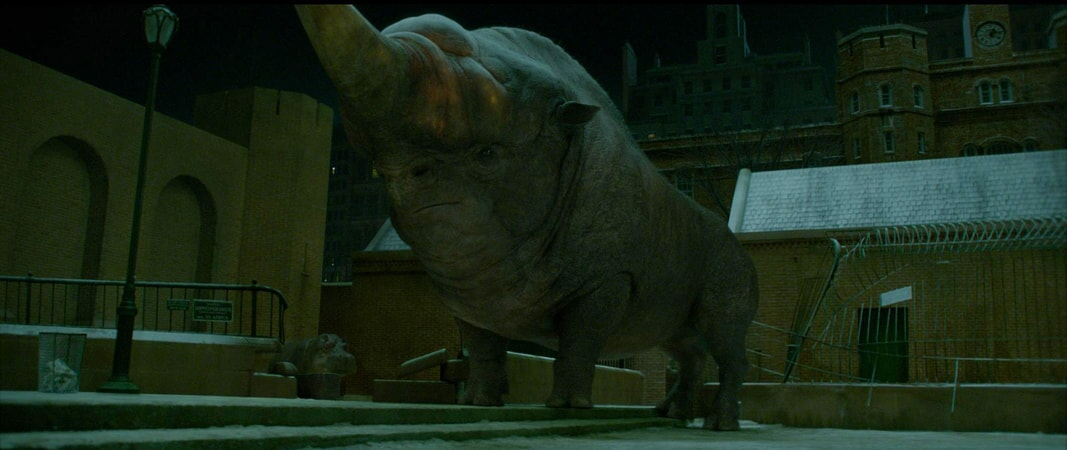 "A beast called an Erumpent in a scene from Warner Bros. Pictures' fantasy adventure ""FANTASTIC BEASTS AND WHERE TO FIND THEM,"" a Warner Bros. Pictures release."