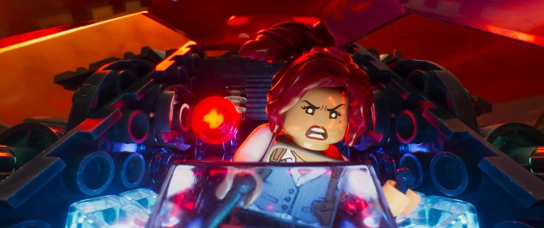"LEGO® minifigure Barbara Gordon (ROSARIO DAWSON) in the animated adventure ""The LEGO Batman Movie,"""