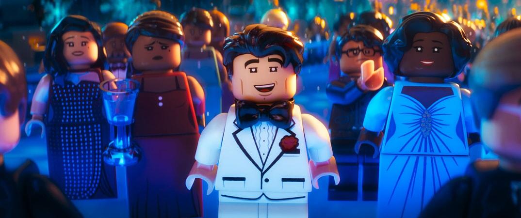 "LEGO® minifigure Bruce Wayne (WILL ARNETT) in the animated adventure ""The LEGO Batman Movie,"""