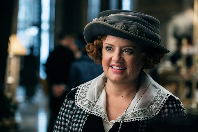 "LUCY DAVIS as Etta in the action adventure ""WONDER WOMAN,"" a Warner Bros. Pictures release."