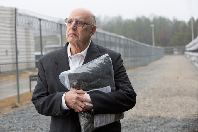"JEFFREY TAMBOR as Francis Silverberg in Warner Bros. Pictures' ""THE ACCOUNTANT,"" a Warner Bros. Pictures release."