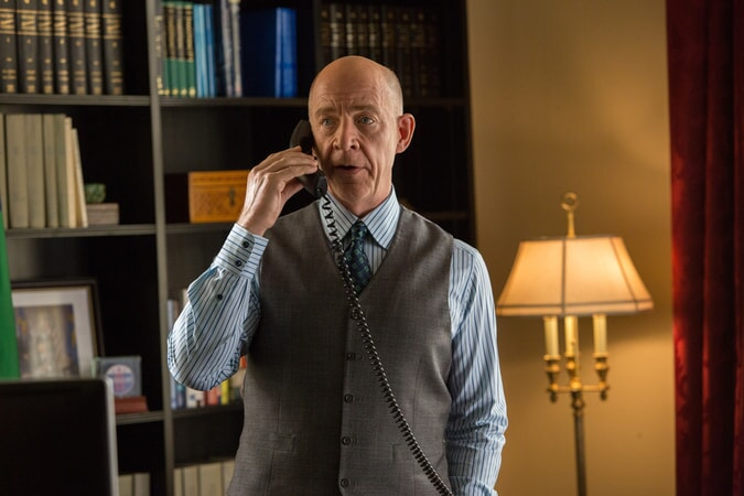 "J.K. SIMMONS as Ray King in Warner Bros. Pictures' ""THE ACCOUNTANT,"" a Warner Bros. Pictures release."
