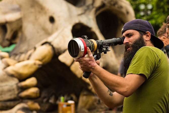 "Director JORDAN VOGT-ROBERTS on the set of Warner Bros. Pictures', Legendary Pictures' and Tencent Pictures' action adventure ""KONG: SKULL ISLAND,"" a Warner Bros. Pictures release."