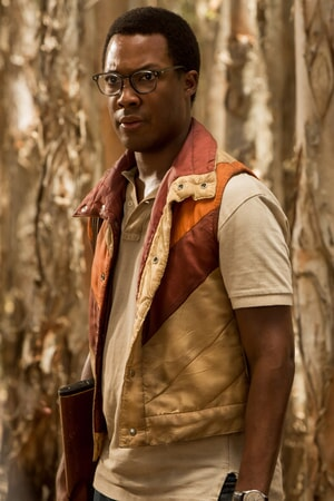 "COREY HAWKINS as Houston Brooks in Warner Bros. Pictures, Legendary Pictures and Tencent Pictures' action adventure ""KONG: SKULL ISLAND,"" a Warner Bros. Pictures release."