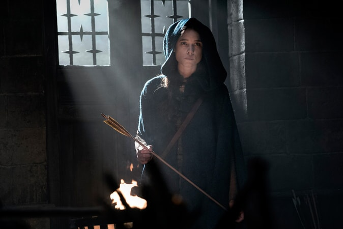 """ASTRID BERGÈS-FRISBEY as The Mage in Warner Bros. Pictures' and Village Roadshow Pictures' fantasy action adventure """"KING ARTHUR: LEGEND OF THE SWORD,"""" distributed worldwide by Warner Bros. Pictures and in select territories by Village Roadshow Pictures."""
