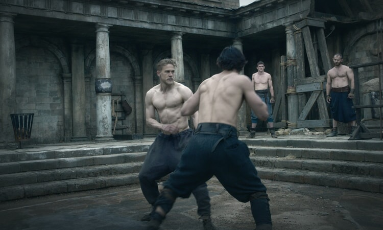 """CHARLIE HUNNAM as Arthur in Warner Bros. Pictures' and Village Roadshow Pictures' fantasy action adventure """"KING ARTHUR: LEGEND OF THE SWORD,"""" distributed worldwide by Warner Bros. Pictures and in select territories by Village Roadshow Pictures."""