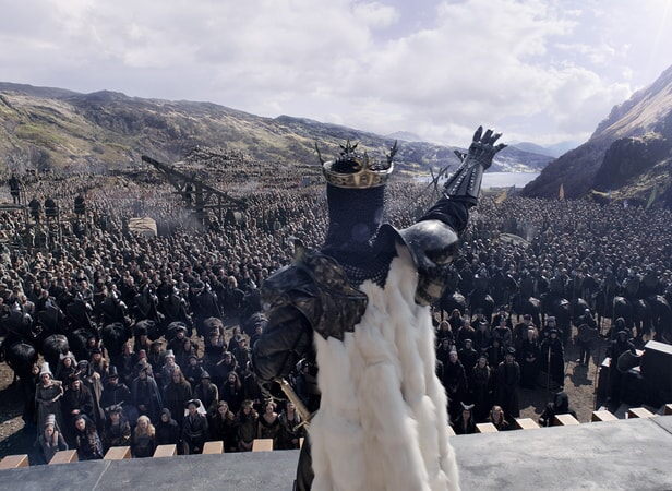 """JUDE LAW as Vortigern in Warner Bros. Pictures' and Village Roadshow Pictures' fantasy action adventure """"KING ARTHUR: LEGEND OF THE SWORD,"""" distributed worldwide by Warner Bros. Pictures and in select territories by Village Roadshow Pictures."""