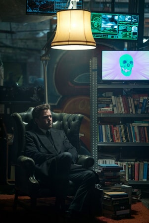 "BEN AFFLECK as Bruce Wayne in Warner Bros. Pictures' action adventure ""JUSTICE LEAGUE,"" a Warner Bros. Pictures release."